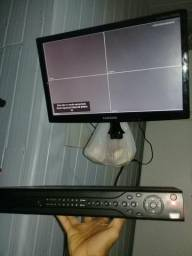 Dvr Intelbras de 4canais com HDMI e um rack