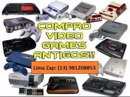 Compro videogames antigos consoles, jogos e acessorios 13981208853