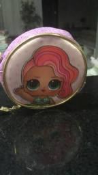 Lindas e charmosas bolsas infantil Das bonecas LOL