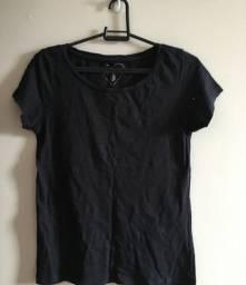 Camiseta preta - P