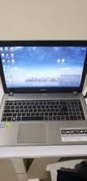 Notebook Acer preteado video dedicado 4gb + GDRR5 (veja descrição)