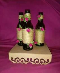 Lembrancinhas para todas ocasiões.kit contendo 20 garrafas decoradas