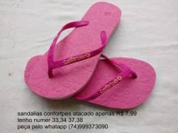 Sandálias confortpes