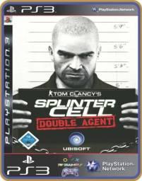 Título do anúncio: Ps3 Splinter cell - Tom Clancys Double Agent