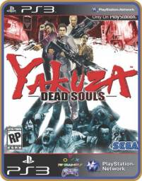 Título do anúncio: Ps3 Dead Souls Yakuza