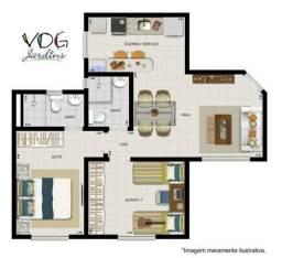 Lindo apartamento de 2 quartos no Boa Vista