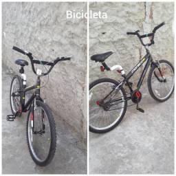 Bicicleta cross aro 24 peças novas eu troco pelo celular em boas condições