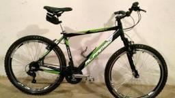 Bicicleta Alfameq Stroll Aro 26 Freio Disco 21 Marchas Nova aceito cartão