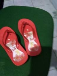 7a7851e43 Chinelo Sandália magnética Feminino com Infravermelho Original Vermelho -  No 36