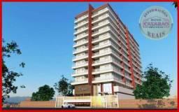 Apartamento com 2 dormitórios à venda, 64 m² por r$ 274.107,52 - aviação - praia grande/sp