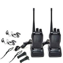 Radio Comunicador Ht Baofeng Bf777s Uhf Par Kit 2 Rádios Completos Bf777 Walk Talk