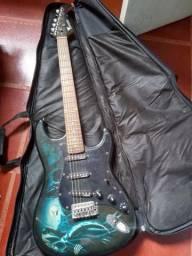 Guitarra Eagle Egp-10 Rp Stratocaster Ceifador
