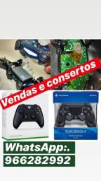 Controle PlayStation e Xbox One