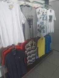 Lote camisetas e polos