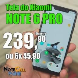 Título do anúncio: Tela / Display para Xiaomi Redmi Note 6 Pro  - Instalação em 30 Minutinhos!