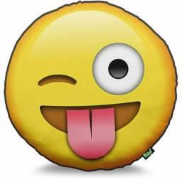 Almofada Emoji Grande e Fofa