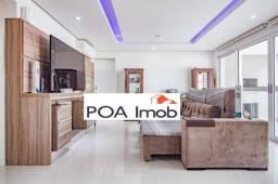 Apartamento com 2 dormitórios para alugar, 114 m² por R$ 4.300,00/mês - Jardim do Salso -
