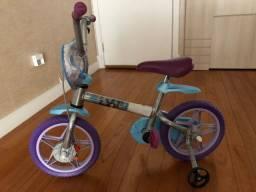 Bicicleta Infantil Disney Frozen Aro 12