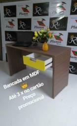 Mesa Escritório MDF ( PRODUTO NOVO) ATE 10 X SEM JUROS