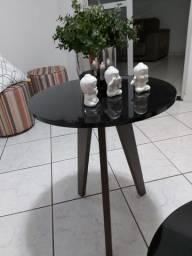 2 mesas centro + porta quadros