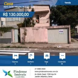 Casa duplex em Jacaraípe, 02 quartos
