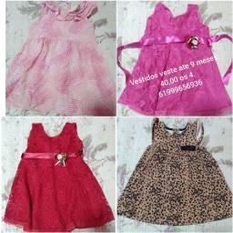 Vestidos bebê