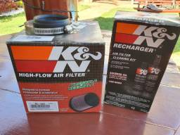 Filtro de Ar K&N Universal Rc-1637<br> + kit limpeza