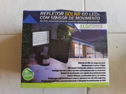 Refletor Solar c/ sensor de presença