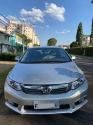 Honda Civic Lxs 1.8 At 2014 *70 mil km