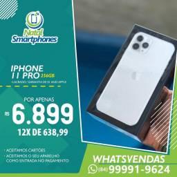 Iphone 11 PRO 256GB ( LACRADO ) GARANTIA 12 MESES ( PRETO, PRATA, DOURADO, VERDE )