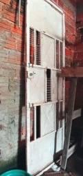 Portão metalon