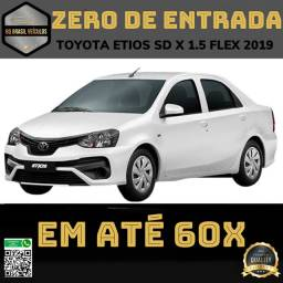 TOYOTA ETIOS 1.5 SD X PLUS 2019 AUT . Garantia de fábrica