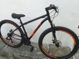 Bicicleta caloi com transbike