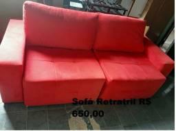 Vendo sofá retrátil  - 2 meses de uso
