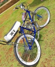 Monto kit motor de bicicleta motorizada
