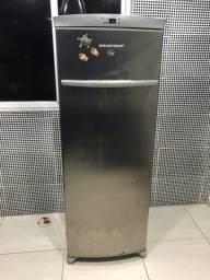 Freezer e geladeira Brastemp inox