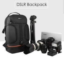 Mochila Maquina Fotográfica Dslr E Drone Light Pro Original