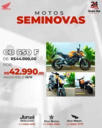 CB 650F 18/19