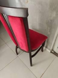Vendo Cadeiras madeira