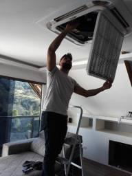 Instalação de ar - condicionado