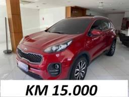 Sportage Lx Km 15.000 = Financiamento na hora