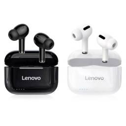 Fone Lenovo Livepods LP1s Preto ou Branco Bluetooth 5.0 Original Lacrado