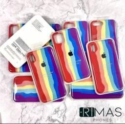 Capa para iphone arco íris- promoção