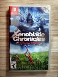 Xenoblade Chronicles Definitive Edition Nintendo Switch Físico Lacrado