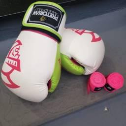 Luva de box PRETORIAN rosa