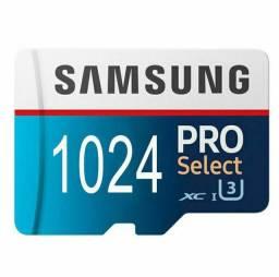 Cartão de memória micro sd 1tb 1024gb Samsung pro select promoção