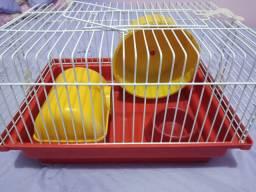 Vendo gaiola (casinha) para hamster