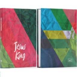 Bíblia Sagrada Letra Média - Almeida Corrigida Fiel (ACF)- Capa Dura - Jesus King