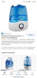 Umidificador Ultrassônico Allergy Free Filter