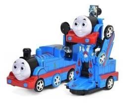 Trenzinho Thomas Vira Robô Com Som E Luzes